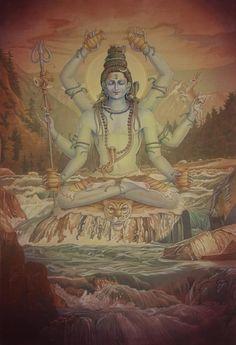 Pieter Weltevrede - Mahamrityunjaya Shiva @ Pieter Weltevrede Collection _ StoryLTD.html shiva