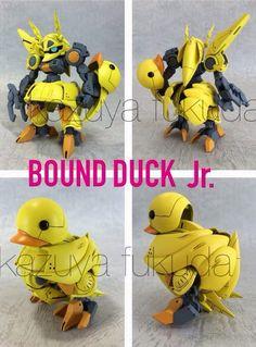 GUNDAM GUY: Bound Duck Jr. - Custom Build