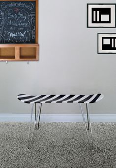 I love this idea. I checked and ebay has the hairpin legs...I might do this for my boys!!