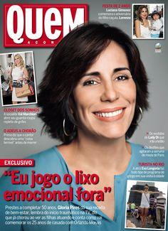 REVISTA QUEM - Gloria Pires é destaque da capa 653. (13/03/2013)