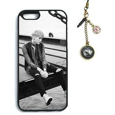 Fanstown BTS KPOP in the mood for love iphone6 case Dust plug charm ($8) ❤ liked on Polyvore featuring accessories and tech accessories