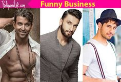 Hrithik Roshan, Ranveer Singh, Sidharth Malhotra – 5 Bollywood actors who should try an out and out comedy soon #FansnStars