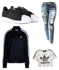 """""""SPORTS outfit"""" by annamariaofficial on Polyvore featuring adidas Originals and adidas"""