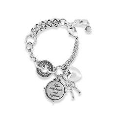 Keep Me Close Bracelet - Miglio Designer Jewellery UK Jewellery Uk, Designer Jewellery, Jewelry Design, Fashion Jewelry, Bangles, Bracelets, Necklaces, Engraved Jewelry, Lobster Clasp