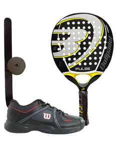 PACK BULLPADEL PULSE Y ZAPATILLAS WILSON NVISION ENVY