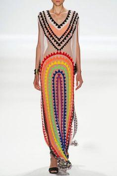 Sleeveless Striped See-Through Maxi Dress