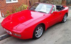 1990 PORSCHE 944 S2 CONVERTIBLE CABRIO GUARDS RED MOT &TAX CLASSIC | eBay