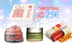 Gift Box Cranberry Butter 50ml & Skin Balancing Oil 30ml & Organic Oxygen Mask 50ml Mόνο με 25ευρώ - Gift Box