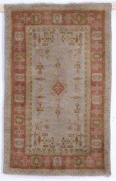 Tappeto anatolico Ushak, fine XIX secolo from cambi casa d'este