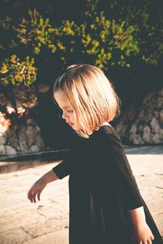 Little girl straight short haircut. - Google search