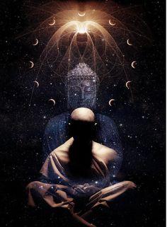 An Exploration of the Seven Wheels, Meditation, Buddhism, Spirituality, and the Human Energy Field Lotus Buddha, Art Buddha, Buddha Buddhism, Buddhist Art, Les Chakras, Little Buddha, Psy Art, Spiritus, Mystique