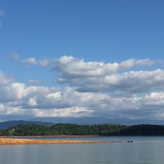 Dandridge, TN- lake views and mountain views all in one. My heart is happy!