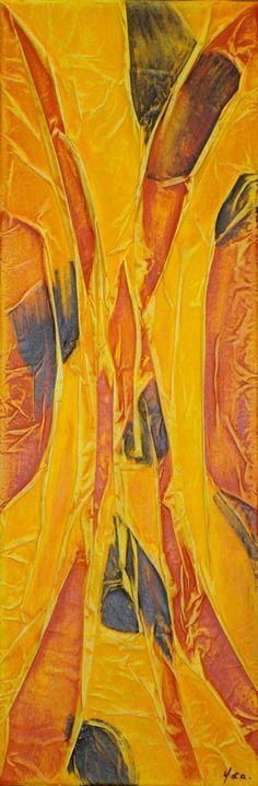 """Saatchi Art Artist Ysa Casse; Painting, """"Matières et couleurs VII"""" #art"""