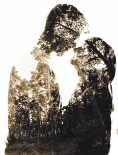Trees we are by Dobre Lehel on Double Exposure, Engagement Session, About Me Blog, Darth Vader, Portrait, Abstract, Trees, Photography, Boston