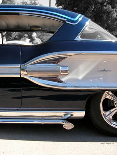 This 1958 Pontiac has such a unique style about it.demanding chrome make a come back in new production cars. Automobile, Pontiac Cars, Pontiac Bonneville, American Classic Cars, Us Cars, Car Detailing, Car Car, Muscle Cars, Custom Cars