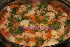 Mâncare de conopidă - de post Paella, Vegetarian Recipes, Vegan, Cooking, Ethnic Recipes, Food, Kitchen, Essen, Meals