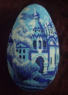 яйцо оплетённое   biser.info - всё о бисере и бисерном творчестве
