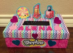 shopkins valentines box - Valentine Boxes For Girls