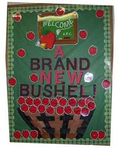 Kid Activities | Display and Bulletin Boards: Autumn/Back to School