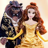 The Disney Fairytale Designer Limited Edition Doll Sets - Belle. Oh my goodness, they're gorgeous!