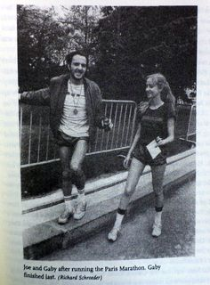 Joe Strummer with Gaby Salter