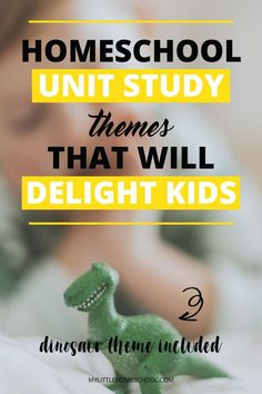 Are you looking for an interesting way to engage your homeschool kids? You might consider some homeschool unit study themes. This post is full of ideas! // My Little Homeschool -- Homeschool Kindergarten, Homeschool Curriculum, How To Start Homeschooling, Online Homeschooling, Kids Study, Study Ideas, Teaching Kids, Student Learning, Home Schooling