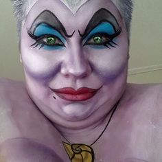 Traditional Ursula | Face paint | Pinterest | Traditional