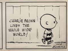 Charles M. Schulz, Civil Rights, and the Previously Unseen Art of Peanuts | Brain Pickings