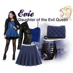 Designer Clothes, Shoes & Bags for Women Cute Disney Outfits, Disney Themed Outfits, Movie Inspired Outfits, Disney Inspired Fashion, Disney Fashion, Evie Costume, Disneybound Outfits, Queen Outfit, Cosplay Outfits