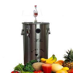 304 Stainless Steel Fermenter Fermentation Barrel Home Brew Wine Beer Fermenters