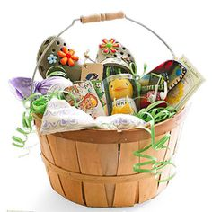 Giving Green for Easter ~ Celebrate Easter by filling your loved ones' baskets with eco-friendly treats, gifts, and accessories. The following slides feature all the individual products shown here.