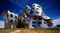 Cleveland Clinic Lou Ruvo Center for Brain Health by Frank Gehry - Las Vegas, NV....like
