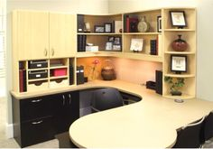 Creating an Organized Office - http://www.404closets.com/creating-organized-office/