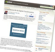 Erfolgsfaktoren für die digitale Transformation