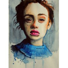 Rhiannon McConnell by Artistfucking on DeviantArt Watercolor Tattoo, Deviantart, Tattoos, Painting, Tatuajes, Tattoo, Painting Art, Paintings, Painted Canvas