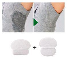 Absorbent Pads Underarm Shields Sweat Circles Odor Prevent Summer