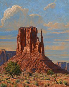 Robert Peters, Arizona Giant, oil, 50 x Landscape Drawings, Watercolor Landscape, Landscape Art, Landscape Paintings, Art Drawings, Watercolor Artists, Abstract Paintings, Oil Paintings, Painting Art