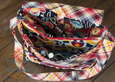 from the blue chair: My New Messenger Bag