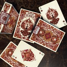 Time to make an announcement :) I wanted to let you all know that the Nouveau Series will have its fifth and last addition to complete this collection: Nouveau Gemmes Playing Cards ♠️ Nouveau Gemmes follows the same jewelry-inspired theme of Nouveau Bijoux and Perle and it comes with a redesigned tuck, back and courts. This limited edition of 500 decks will be live on Kickstarter on August 26th. Further details will be posted in a few days so stay tuned!