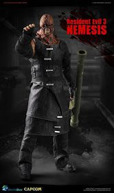 onesixthscalepictures: World Box Resident Evil 3 NEMESIS : Latest product news for scale figures inch collectibles). Resident Evil Remake, Resident Evil Nemesis, Resident Evil Cosplay, Resident Evil Game, Resident Evil Collection, Pyramid Head, Star Trek Voyager, Wedding Humor, Pop Culture