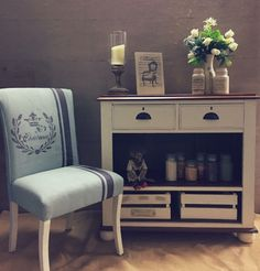 No time for upholstery?! Just paint it with Unique Options Furniture paint!!!
