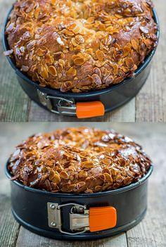 supergolden bakes: Bienenstich: Bee Sting Cake Bake Along German Baking, British Baking, Great British Bake Off, British Bake Off Recipes, Baking Recipes, Cake Recipes, Dessert Recipes, Bread And Pastries, Bienenstich Cake