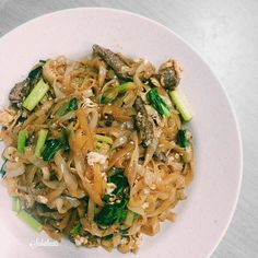 Dry Fried Kuew Teow with beef at Beaufort Restaurant Hilltop. I prefer the foods at Beaufort Restaurant at Beaufort Restaurant Penampang. Same chain but food taste much better