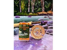Two Hearted Ale, Gift for Boyfriend, Gift for Husband, Bell's Brewery, Michigan Beer Painting Wedding Gift, Second Anniversary Gift for Him Presents For Boyfriend, Gifts For Husband, Boyfriend Gifts, Second Anniversary Gift, Beer Art, Beer Gifts, Brewery, Ale, Wedding Gifts