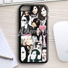 Demi Lovato Collage iPhone 7 Case | armeyla.com