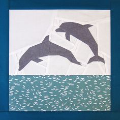 dolphin block by banquopack, via Flickr