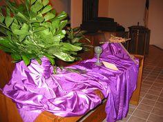 Altar: Palm Sunday