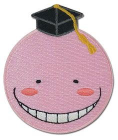 - Officially Licensed - Iron or sew it on - Approximately 2.75 inches tall x 2.25 inches wide - Great for Assassination Classroom fans! - Made in China