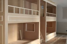 How To Build Built-In Bunkbeds