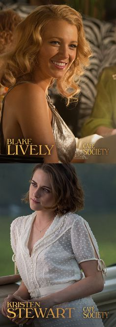 Oozing with glamour and a bewitching charm, our leading ladies Blake Lively and Kristen Stewart are a sight for sore eyes. Playing Vonnie and Veronica in Cafe Society, you can not blame our protagonist Bobby (Jesse Eisenberg)  for falling for these beauties.  Set against the glitzy world of 1930's Hollywood and New York City, Cafe Society is in cinemas, September 2.
